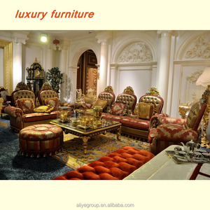 usa luxury furniture and italian style sofa set living room furniture in foshan - IT118200