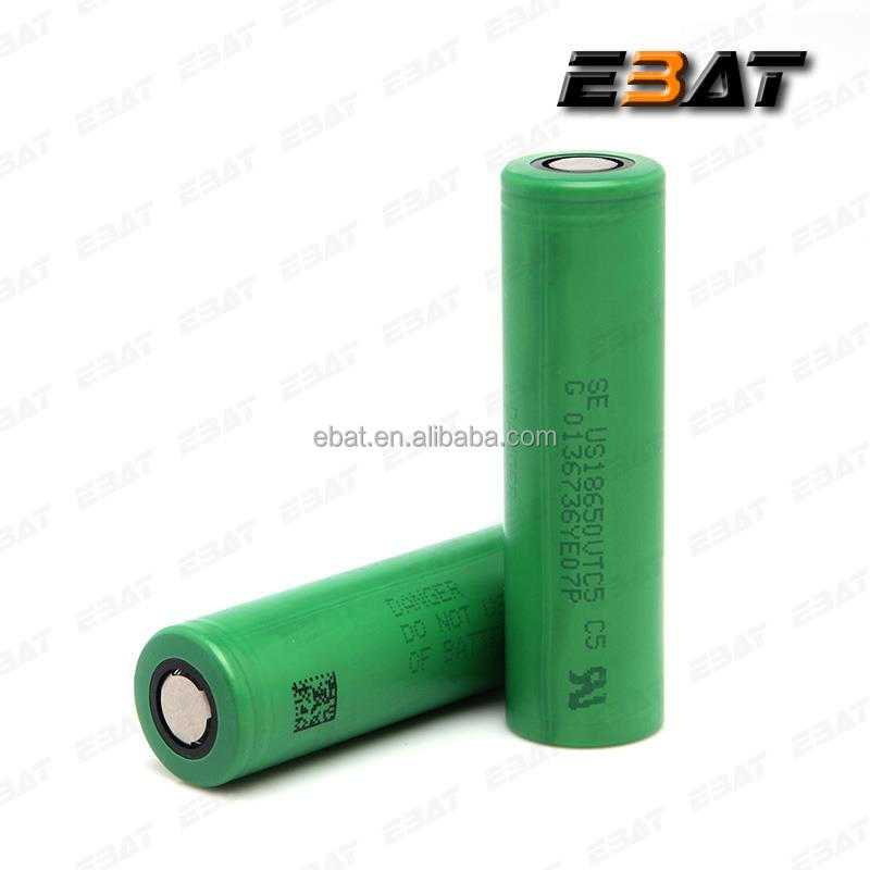 VTC5 electric bike battery 3.7v 2600mAh japan se original accu 18650 vtc5 battery