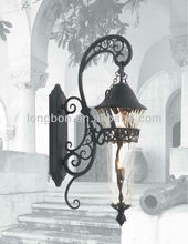 Top-selling indoor artistic cast iron hanging lamp