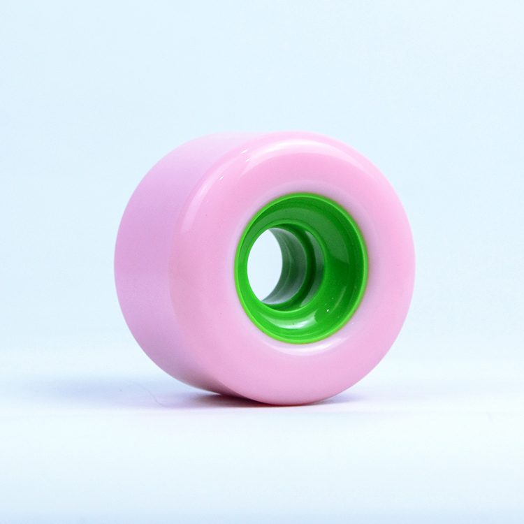 High Quality PU Casting longboard wheels with PU core for Sliding