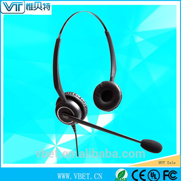anti-radiation paint headset for telephone operator with transparent voice tube