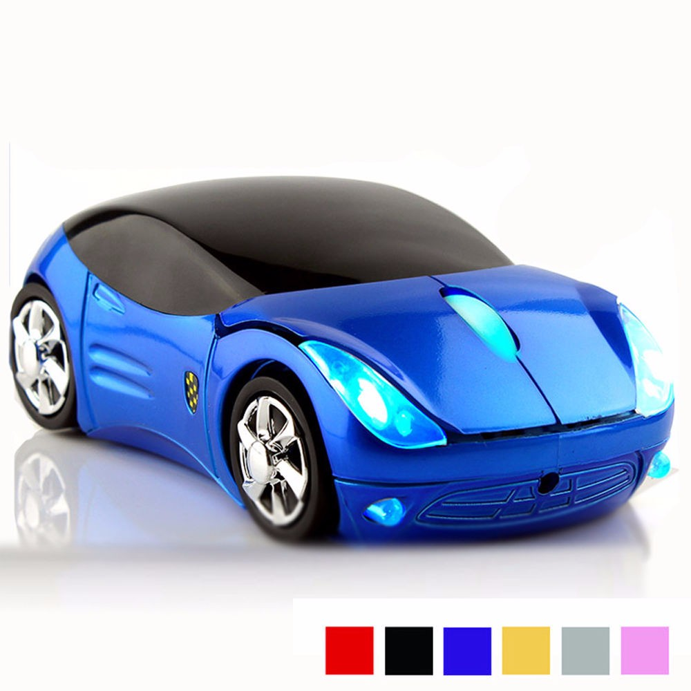 2016 Unique Car shape wireless Optical mouse
