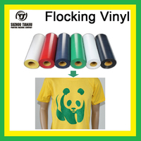 "Heat transfer flock vinyl 20""x984""/Roll"