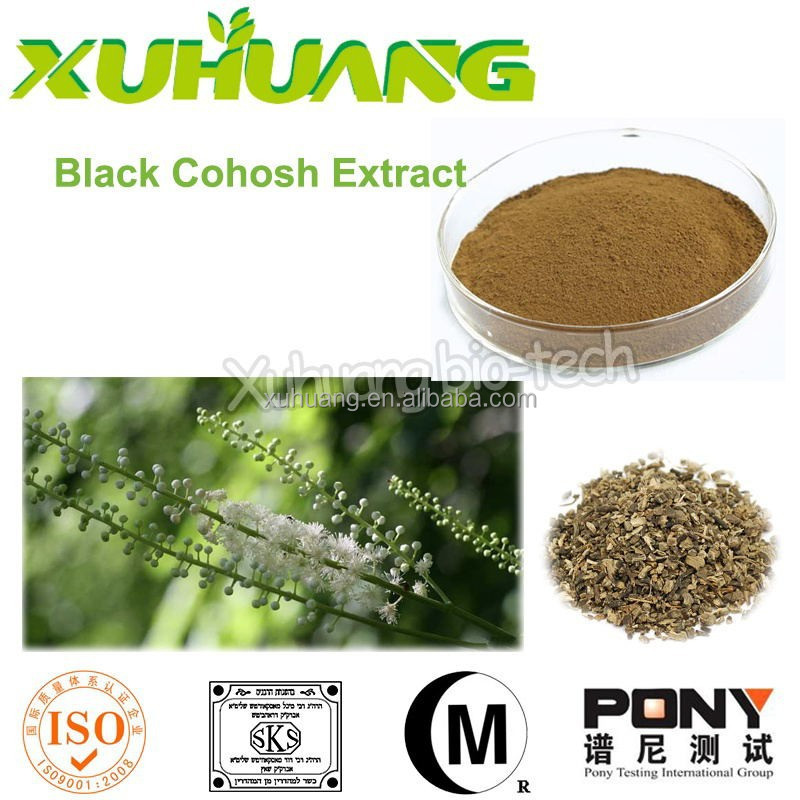 factory price black cohosh extract powder Cas:84776-26-1 black cohosh extract
