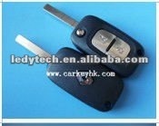 Looking! Renault 2 buttons flip auto remote key casing .key blank &key cover &auto key