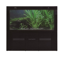 Elegant Cleair Glass Wall Aquarium MBZH900 with LCD and Arcrylic decoration