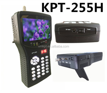 4.3 inch TFT LED Handheld Multifunctional Satellite Finder KPT-255H