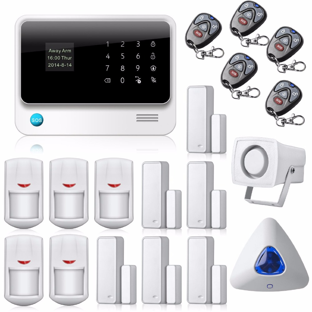 Shenzhen wifi gsm burglar alarm system home <strong>security</strong> with app