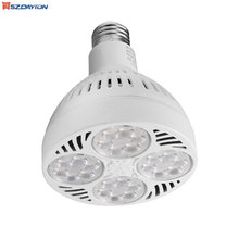 High Power Led Spot Lamp E26/ E27 220Vltage AC90-277V Dimmable PAR30 35W Led Spotlight