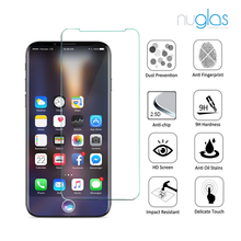 0.33mm 9H Hardness 9h hardness Anti-Scratch mobile phone/cell phone clear tempered glass screen protector for iPhoneX