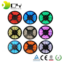 dongguan factory led light <strong>rgb</strong>/white/warm white smd 5050 3 chips double pcb 12v flexible led strip