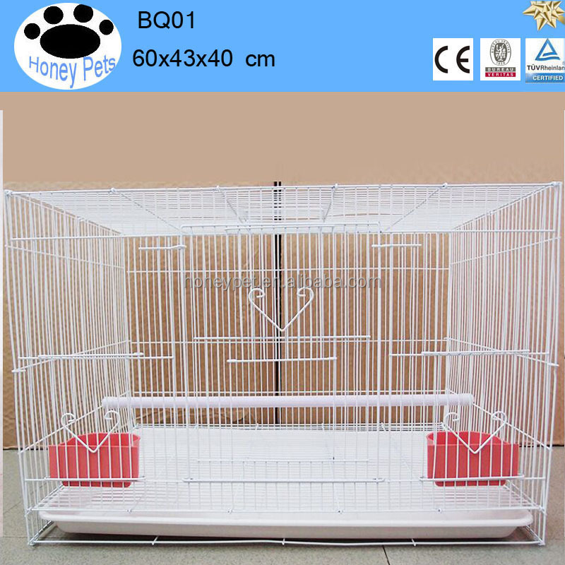 Chinese antique all wire bird breeding cages