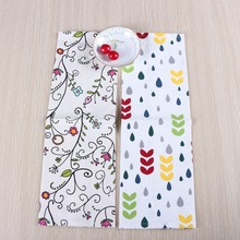 Printed style cotton rectangular kitchen placemat towel cloth tea towel