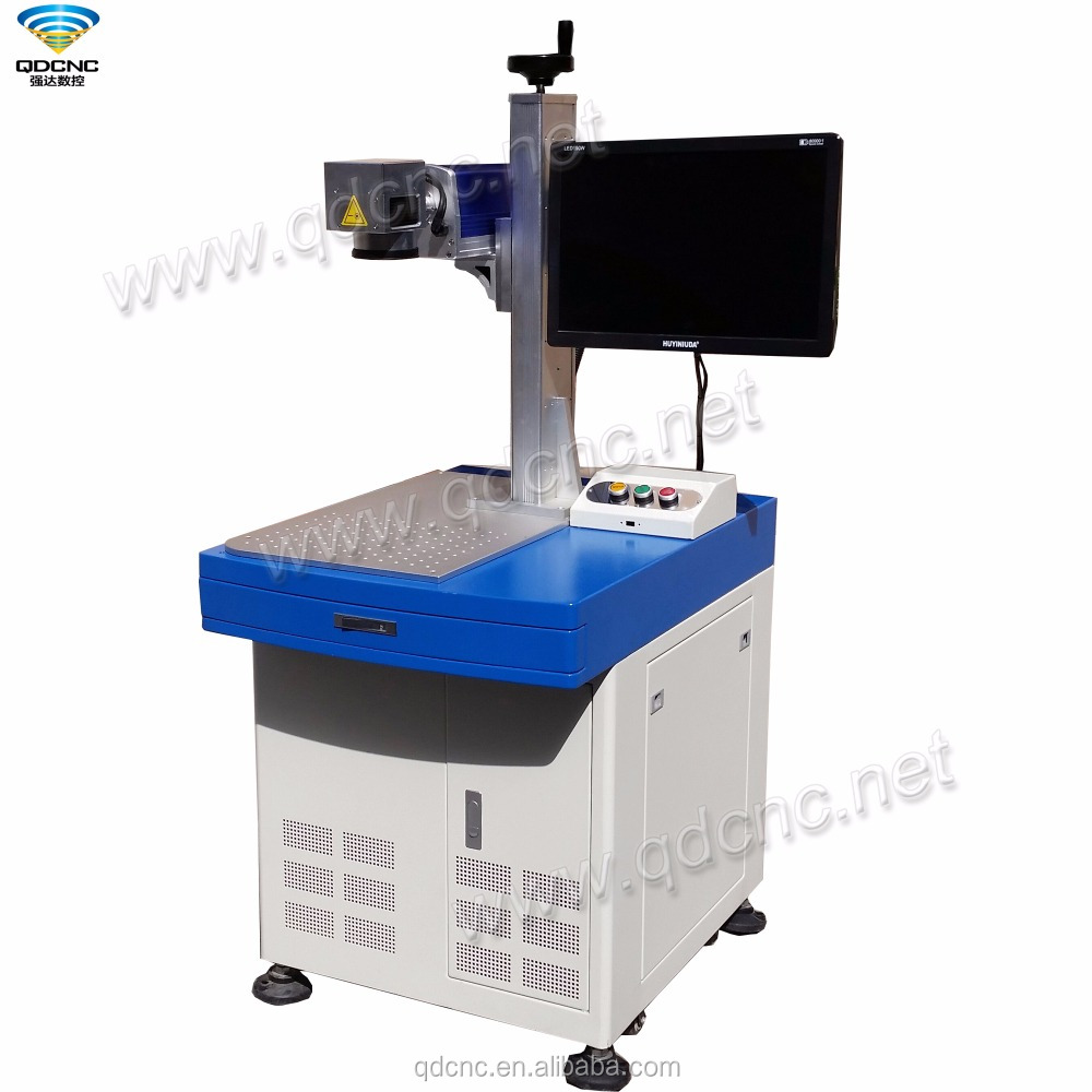 popular laser marking machine for mobile surface/high quality long laser lifetime for working process QD-F20/QD-F30/QD-F50