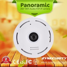 hot sell 960p 1.3mp 360degree panoramic fisheye 1.56mm 1.44mm two way audio IPC360 showmo mobile remote view p2p wifi ip camera