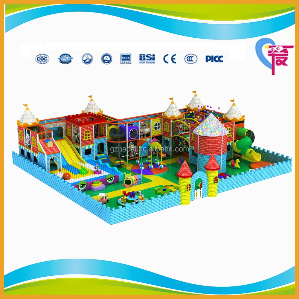 A-15276 Funny Summer Blue Ocean Series Houses Preschool Indoor Playground Equipment Kids Toy Design