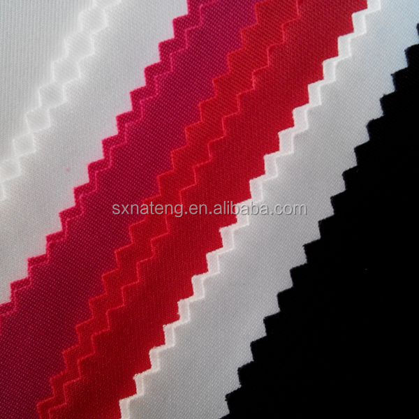 China manufacturer 100D stock plain textile dyed scuba fabric