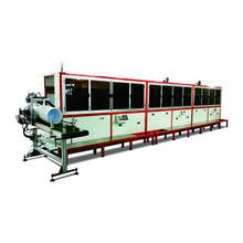 screen printing machine for bucket automatic type in multi colors printing