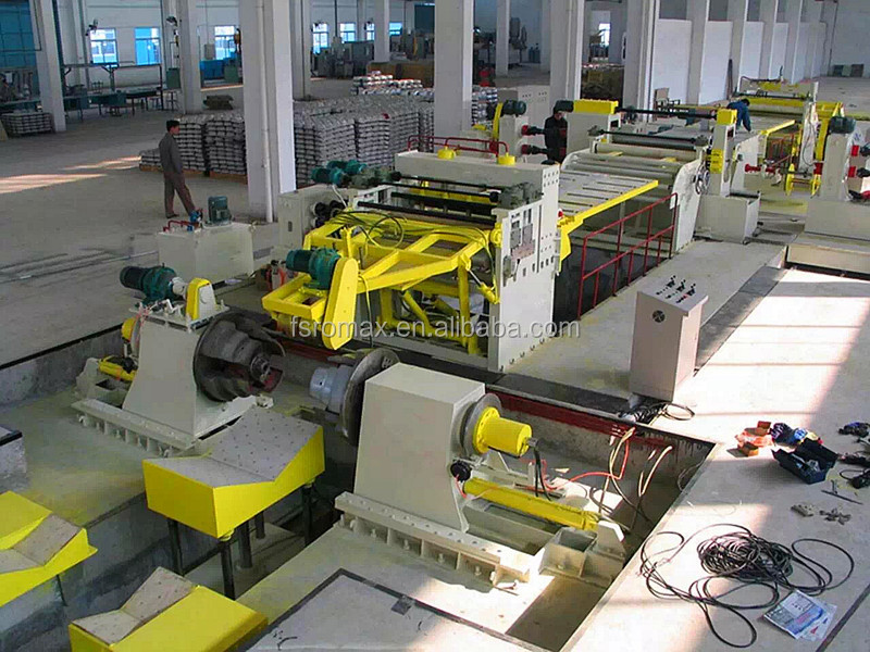Foshan Automatic hydraulic slitting machine for steel coil