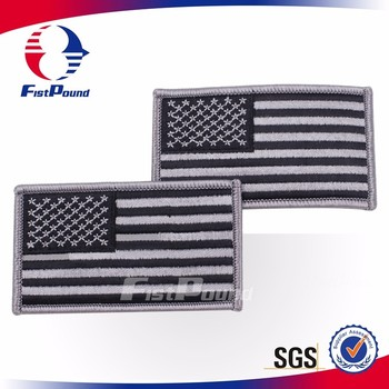 United States flag Embroidery Badge