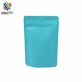 Stand Up Colored Aluminum Foil Ziplock Packaging Bag For Coffee , Cookies, Powder , Snack