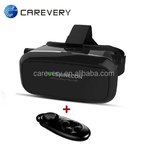 Cheap Cardboard 3D VR BOX with Control VR 3D Glasses Best buy