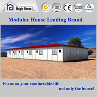 Foam cememt prefab houses for office and school