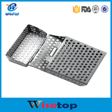 New Arrival Magnet Hollow Out cigarette case top quality ultra-light Aluminum Alloy Cigarette Box