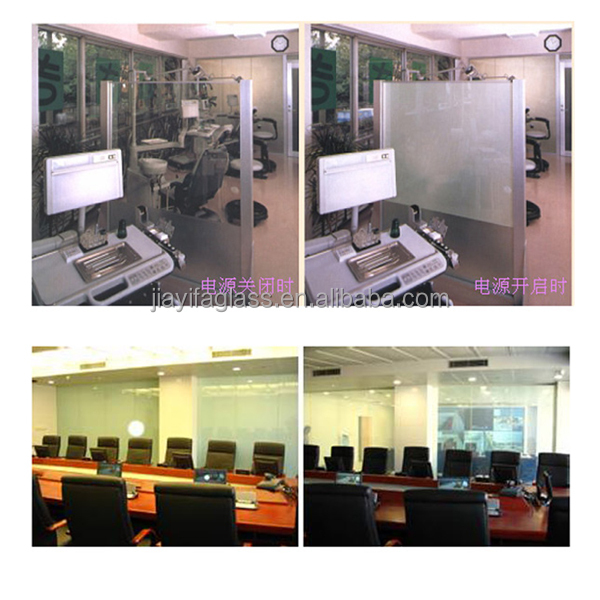 Factory price of lcd switchable privacy glass,pdlc liquid crystal film