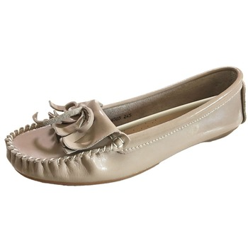 Flexible Moccasin Tassel Handmade Soft Leather Ladies Women Comfort Shoes