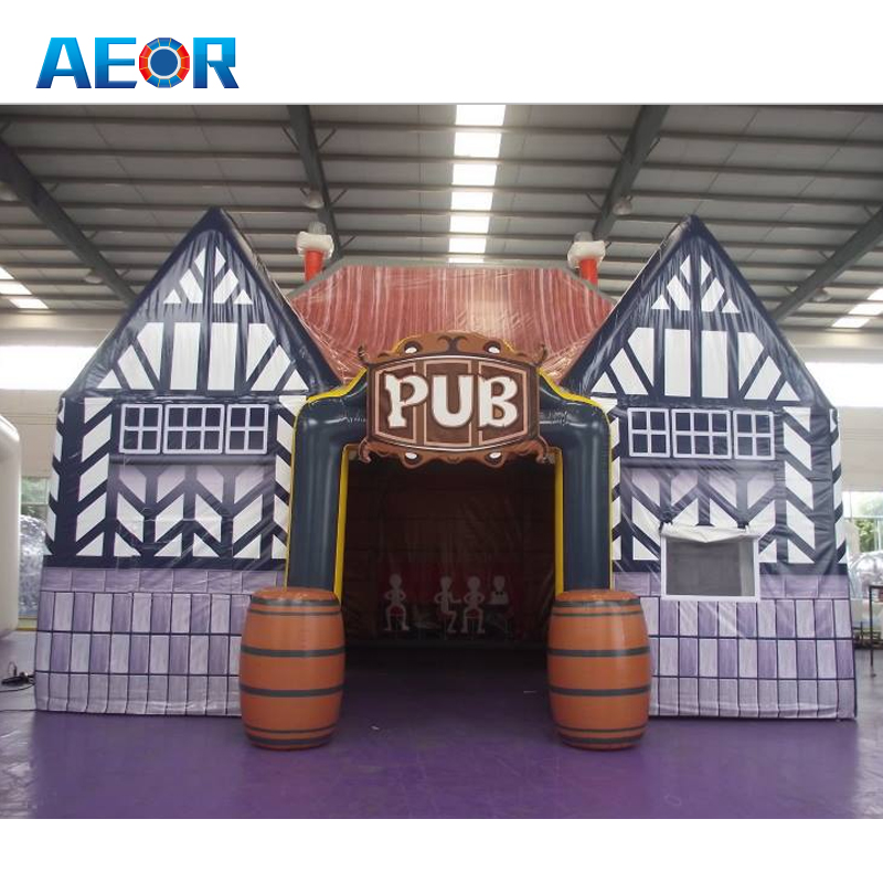 high quality inflatable villa house/ inflatable prefabricated house/ inflatable modern house for sale