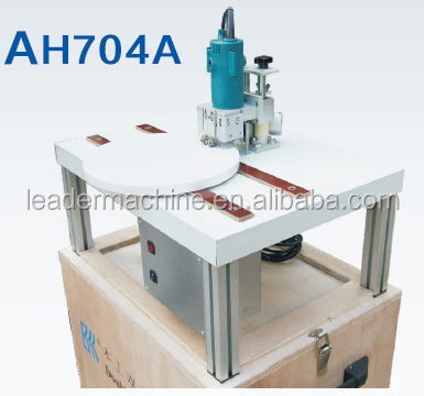 AH704A 2015 Curve Double Side Trimming Machine/Woodworking Double Side Edge Banding Trimming