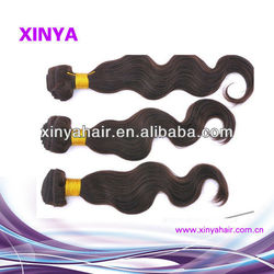 Remy hair weft sealer in factory price