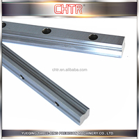 Sliver and Black Anti-friction Interchangeable Linear Guide Steel Rail