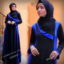 WS1002 2016 everyday wear jersey Casual Abaya