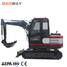 3.5t Small Digger Mini Crawler Excavator for sale