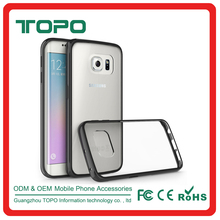 [TOPO] Ultrathin Clear Transparent Anti Knock Soft TPU Shockproof Phone Cover Case for samsung s6 S6 edge