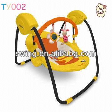 New design of Muti-function rocking baby electric swings chair/electric swings chair/ swing berceau papasan baby, Togyibaby