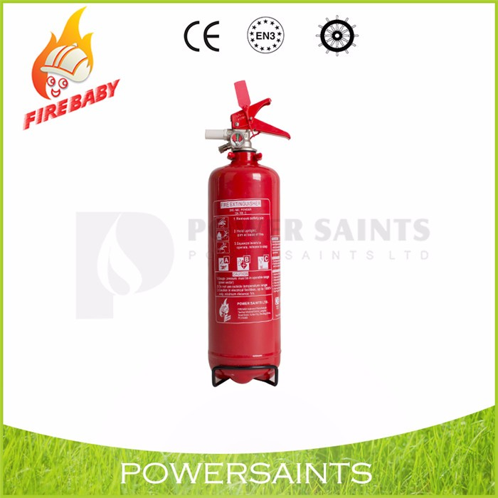 Dry chemical powder used fire extinguisher equipment