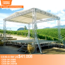 Best Quality Aluminum Concert Backdrop Roof Truss Stage System
