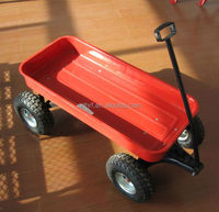 TC1800 Children Garden Tool Cart cheap practical covenient plastic four wheel