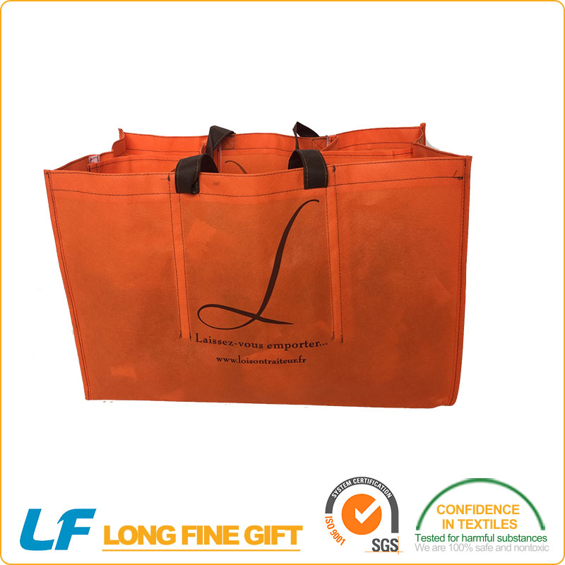 Customized Printed and Various Design with10 years factory experience 100% polyester promotional nonwoven shopping bag