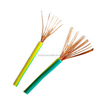 Copper Conductor Material and none Jacket electrical wire 6mm