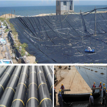 Best selling hdpe 500 sheet 45 mil geomembrane pond liner / lldpe/ldpe pvc