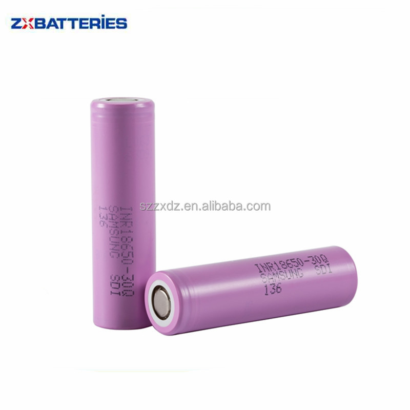 100% Original INR18650-30Q 3000mah 3.7v 18650 30Q Rechargeable Battery For Samsung