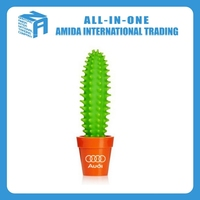 2015 high quality creative cactus modelling small pure and fresh and ballpoint pen