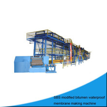 SBS modified Bituminous Waterproofing Sheet Material/production line/assembly line