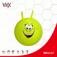 kids ride hopping inflatable ball with handle
