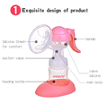 Doopser manual breast pump silicone manual breast pump for baby DPS-853