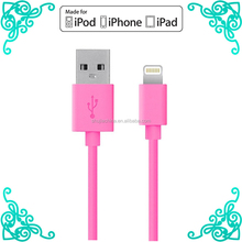 mfi certified manufacturer mfi charger cable for iphone 6 usb to tv adapter usb cable